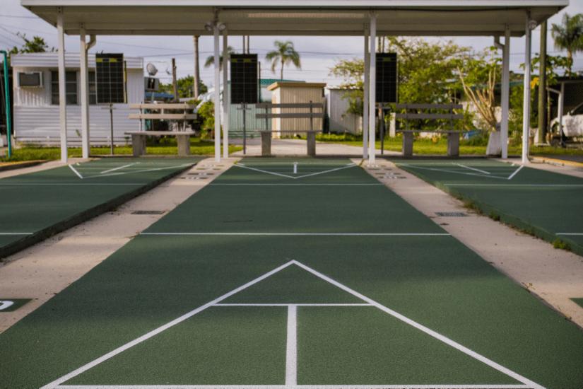 Shuffleboard Courts